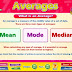 Average of averages