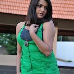Tashu Kaushik Hot Stills in Green