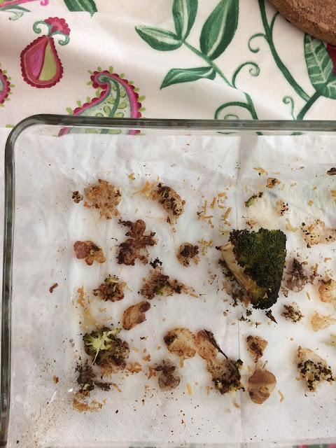 Broccoli al forno veloci e leggeri- senza bollire