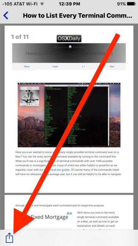 Bagaimana Cara Mencetak File Ke PDF Di iOS iPhone