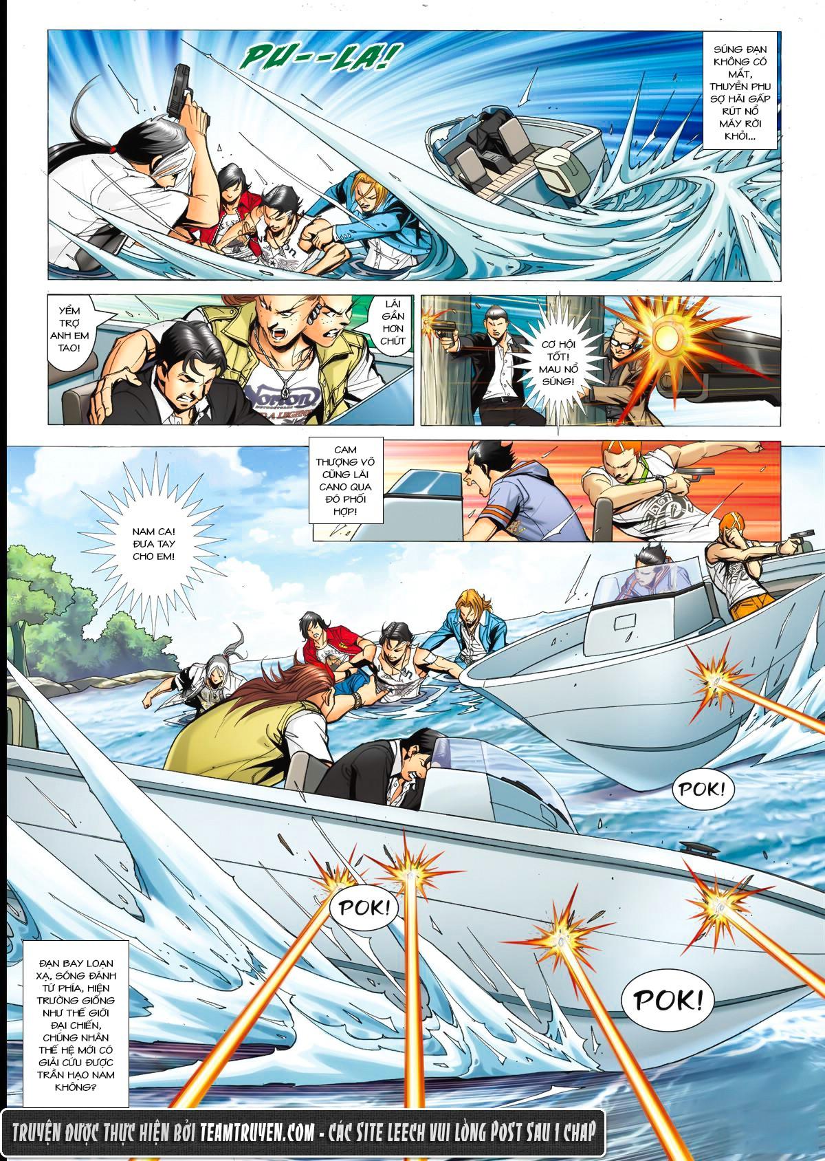 Người Trong Giang Hồ NetTruyen chap 1520 - Trang 16