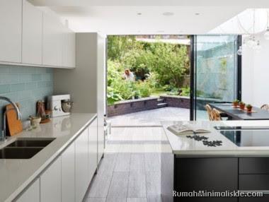 bentuk desain dapur semi outdoor