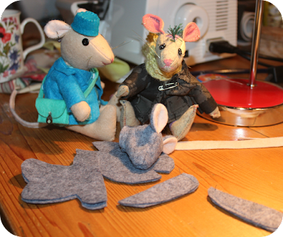 felt animals, animal en feutre, feutrine, felt