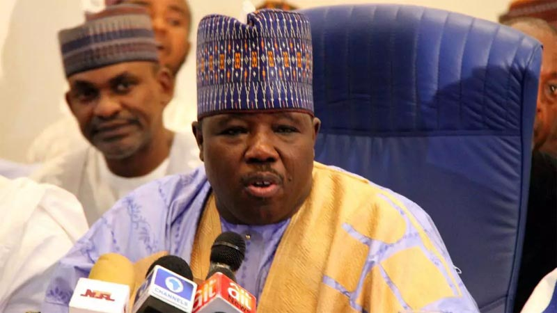 Court orders Ali Modu-Sheriff to stop parading as PDP national chairman