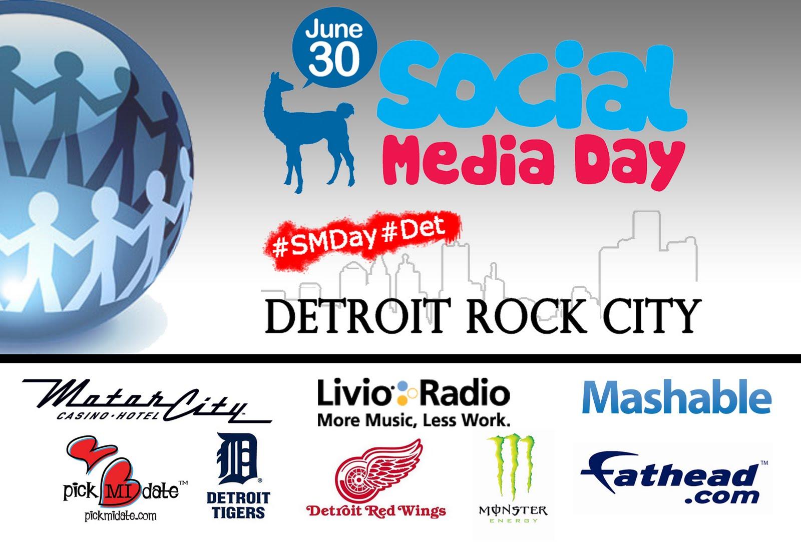 Detroit Social Media Day June 30, 2011 Sponsors