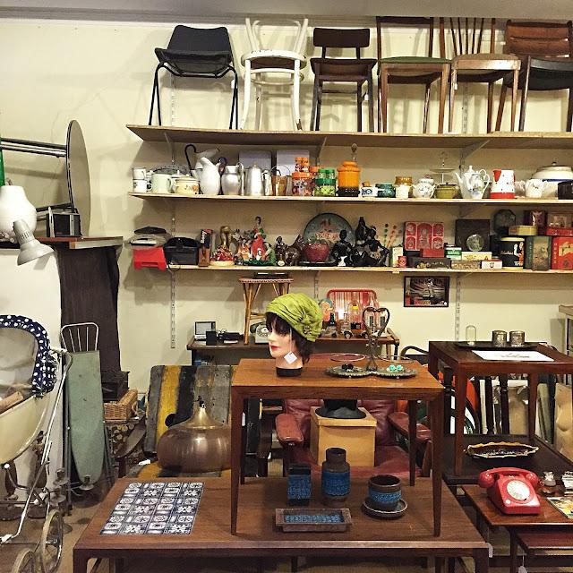 a Porta Verde, loja vintage, móveis vintage, decoração vintage, Aveiro