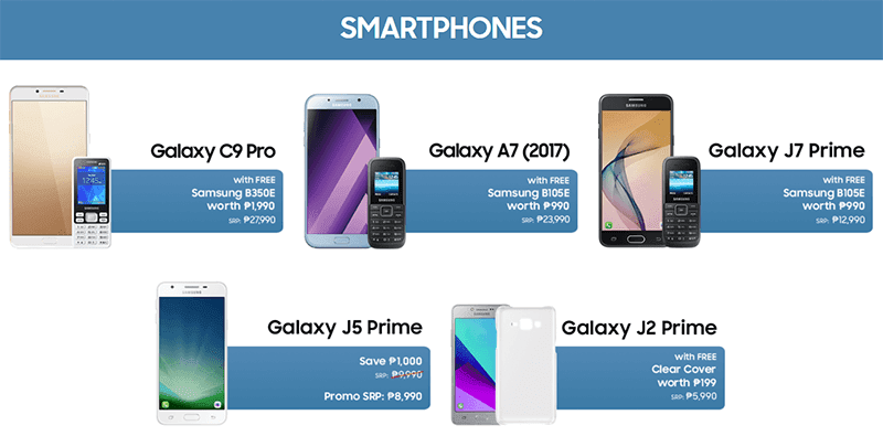 Samsung Announces The Great Gadget Sale 2017