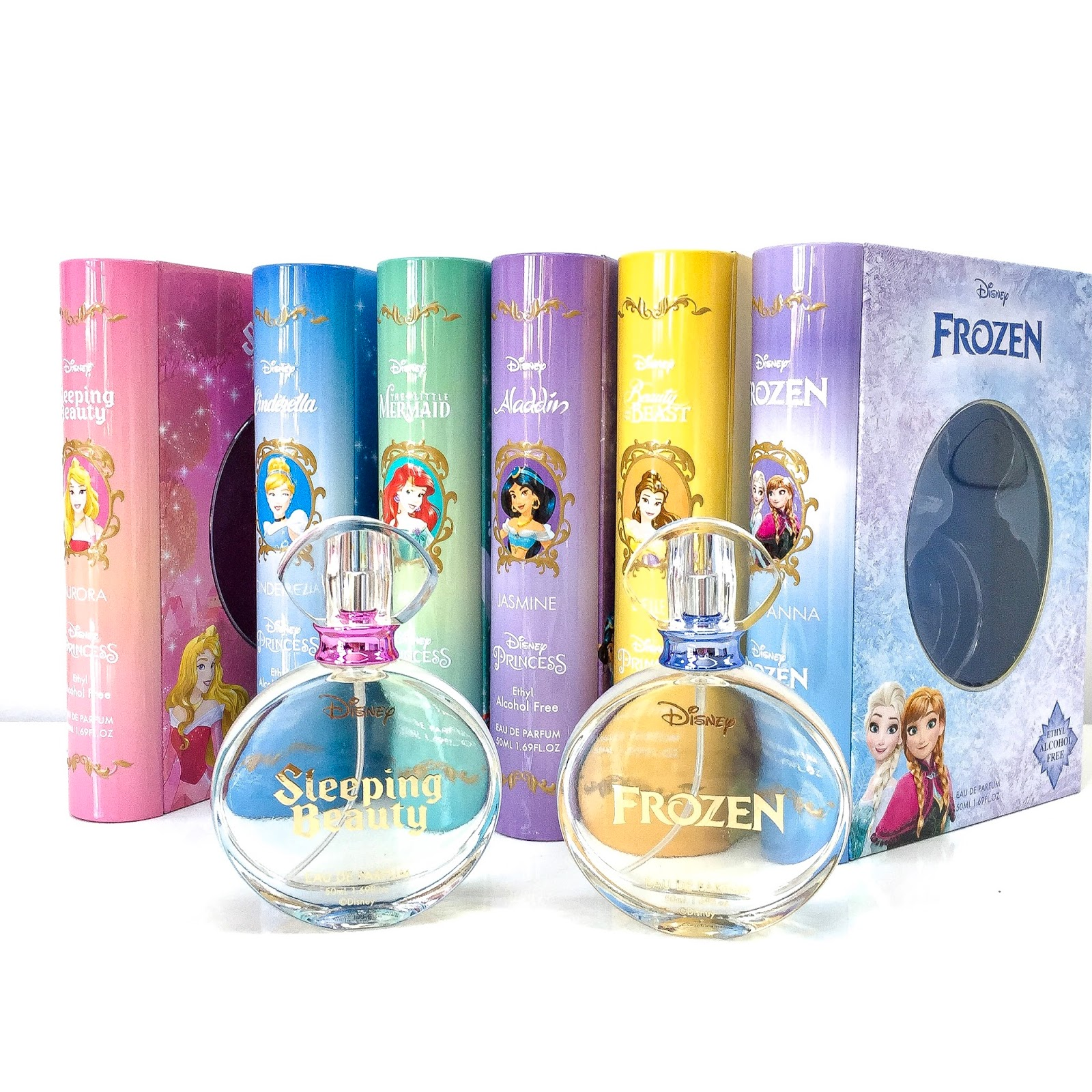 Love Each Other When Two Souls: PRODUCT REVIEW: DISNEY STORY BOOK PERFUMES; FROZEN