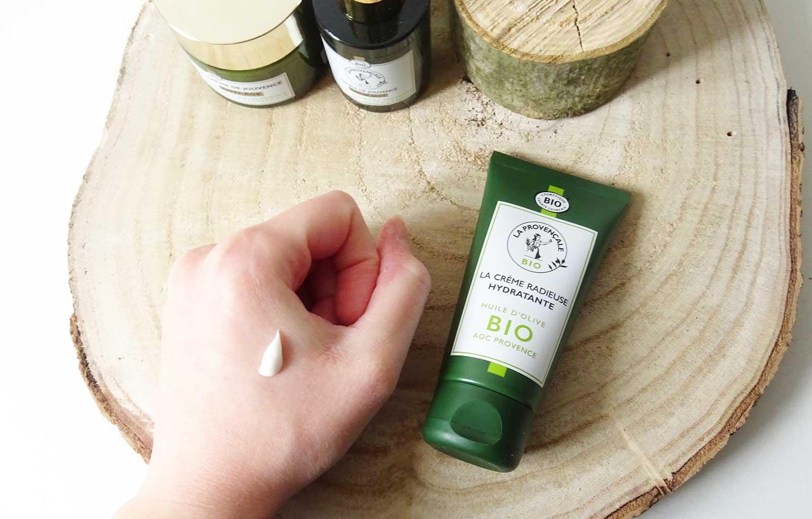 La Provençale soins visage bio naturels crème radieuse
