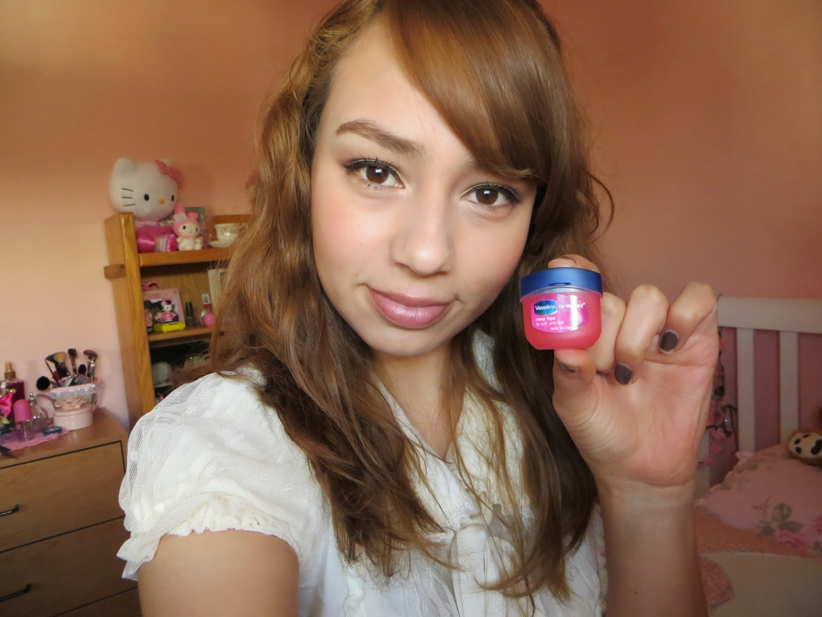 AtomicNony ♥: Vaseline Lip Therapy Rosy Lips Review