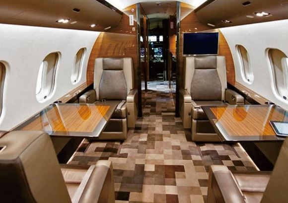 Bombardier Global 6000 cabin