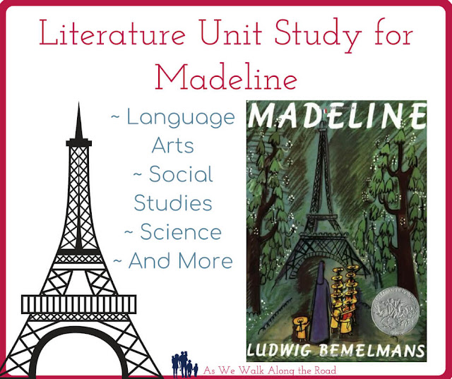 Literature unit study for Madeline