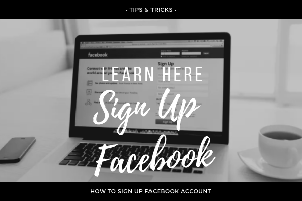 Sign Up Facebook