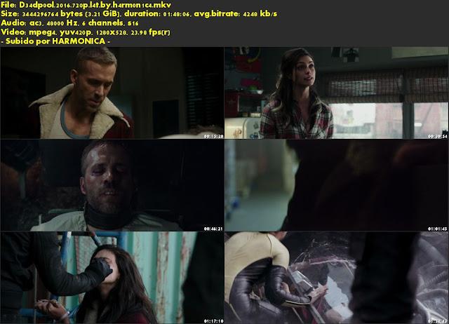 Descargar Deadpool Latino por MEGA.