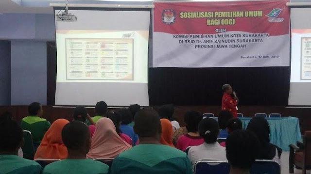 "Sosialisasi Pemilu oleh KPU, Pasien RSJ Bilang ""Jangan Coblos Pak, Bukan Muhrim!"""