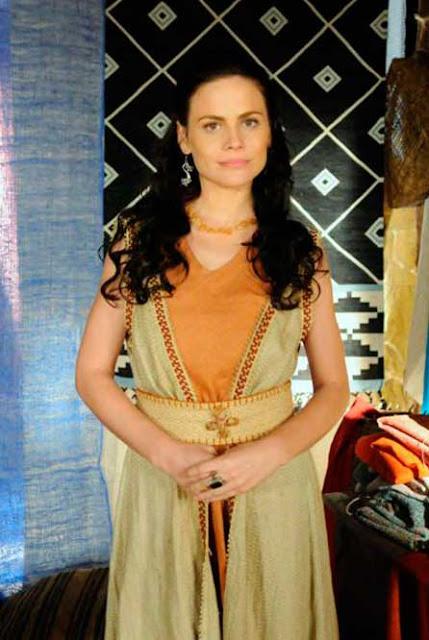 Vestido hebreia Acsa (Maite Piragibe), A terra Prometida, figurino