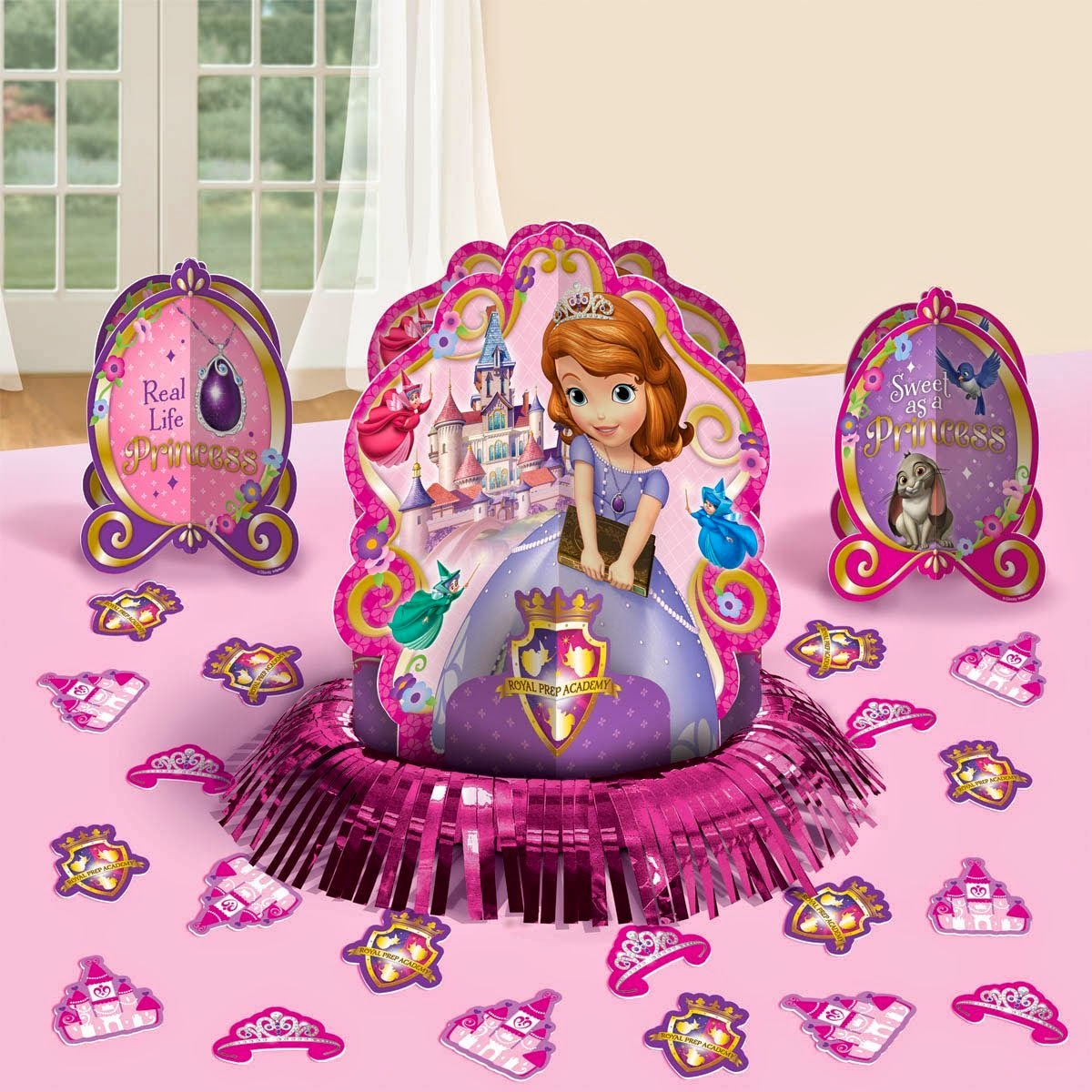 Disney S Sofia The First Themed Party Supplies And Ideas