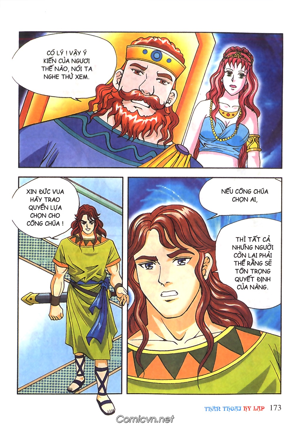 Thần Thoại Hy Lạp Màu - Chapter 51: Nàng công chúa Helen - Pic 12