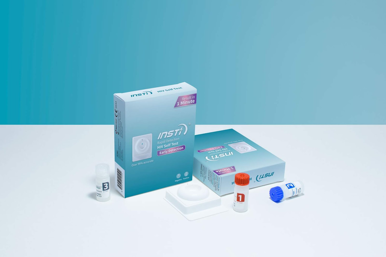 INSTI HIV Self Test 2 0 on Packaging of the World - Creative Package