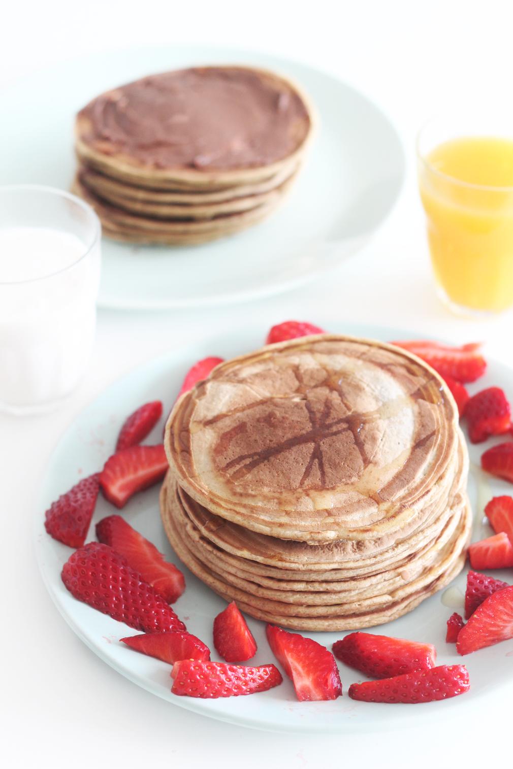 axelle et ses caprices pancakes healthy et sans lait. Black Bedroom Furniture Sets. Home Design Ideas