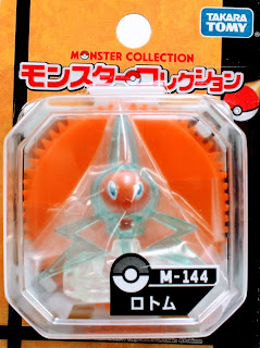 Rotom figure Takara Tomy Monster Collection M series
