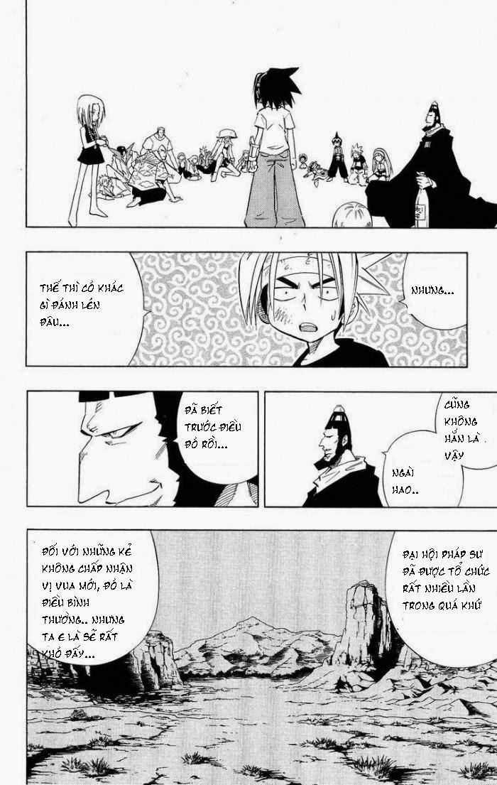 Shaman King [Vua pháp thuật] chap 219 trang 14
