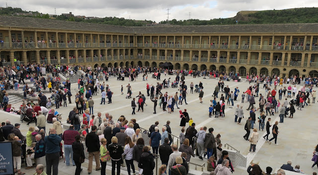 Halifax Piece Hall on opening day, 1st August 2017