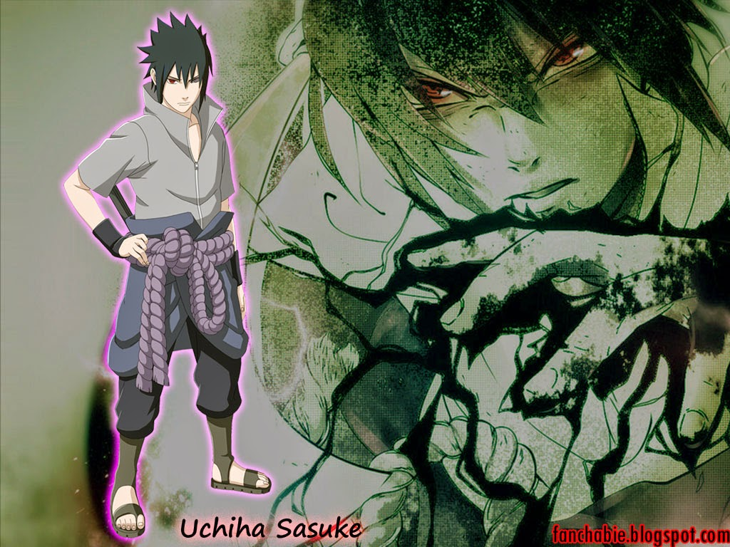 Uchiha Sasuke With Sword