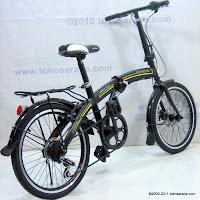 4 Sepeda Lipat GORIN 7 Speed Shimano dan Disc Brake 20 Inci