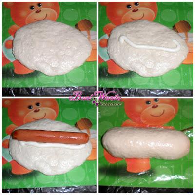 Resepi Roti Bun Sosej. Roti Bun Malas Saiz Gergasi. Cara Buat Roti Bun Gebu Dan Sedap. Roti BUn Sosej Mayo Simple Senang.