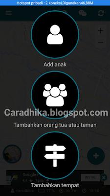 Cara Mengetahui Posisi Seseorang Melalui Google Map