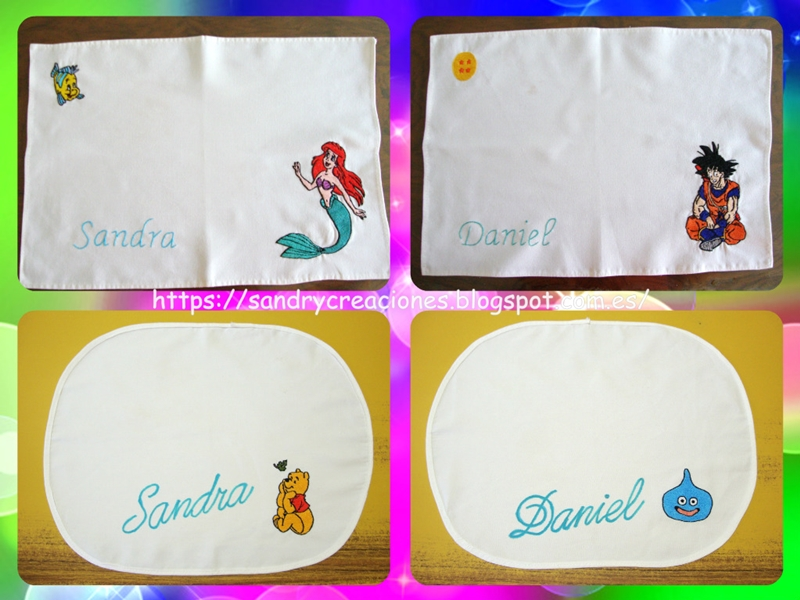 Manteles individuales personalizados - Handbox Craft Lovers ...
