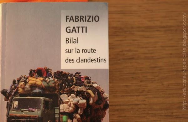 """Couverture """"Bilal sur la route des clandestins"""" Fabrizio Gatti"""