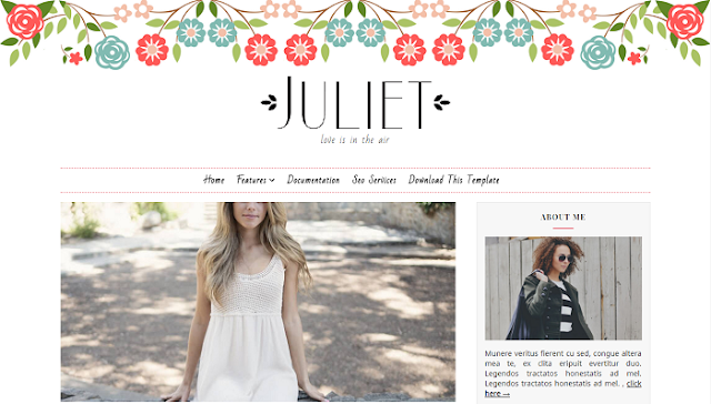 Juliet Blogger Teması