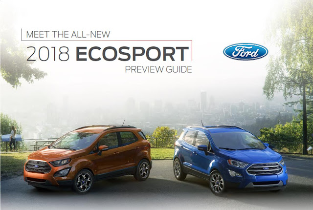 2018 EcoSport Preview Guide