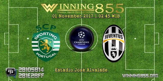 Prediksi Bola Sporting Lisbon vs Juventus | 01 November 2017