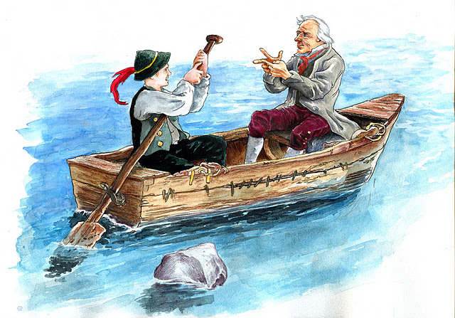 El Barquero y el Estudiante