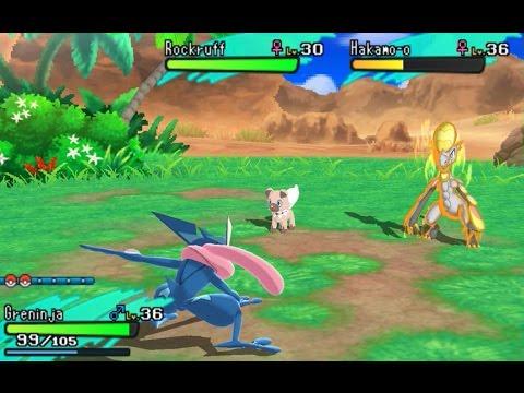Pokemon Sun And Moon Gba