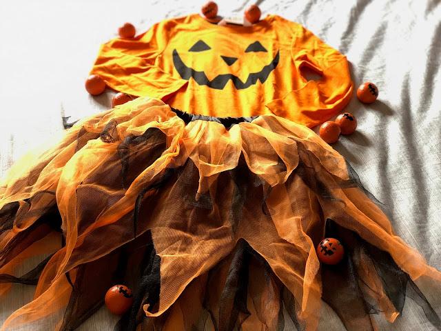Disfraz de Halloween casero para niña