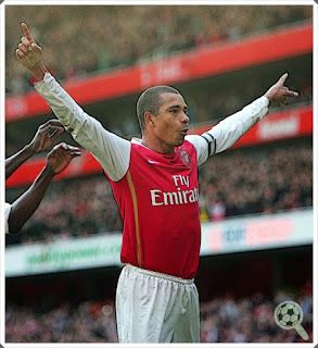 Gilberto Silva Invisible Wall Arsenal