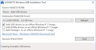 Cách tích hợp trình điều khiển driver chipset USB 3.0 vào usb cài đặt Windows 7