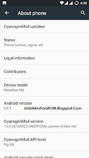 Install Android 6.0.1 Marshmallow On Gionee Marathon M3