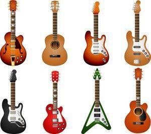 Một số loại đàn guitar