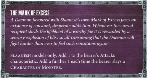 Códex Demonios de Slaanesh