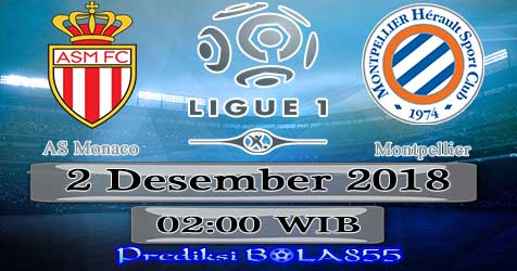 Prediksi Bola855 AS Monaco vs Montpellier 2 Desember 2018