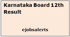 Karnataka Board 12th Result 2017