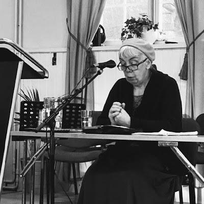 tisdag 15 januari 2019 kl 12, Gertrud Johansson: Församlingen - av himmelen