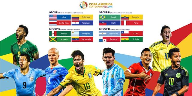 Copa America 2016 Schedule Pacific Time