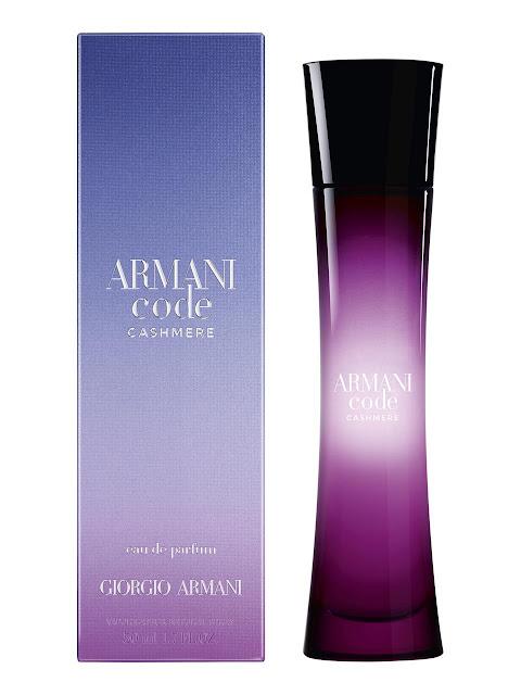 revue armani code cashmere parfum