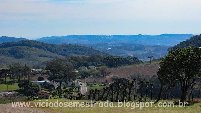 Vista do Vale dos Vinhedos, Bento Gonçalves, RS